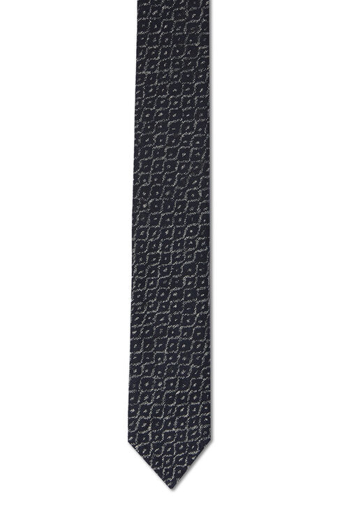 Printed cotton tie , Officina Slowear | Slowear