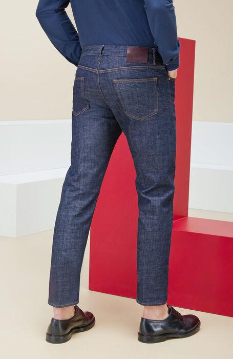 Five-pocket stretch denim trousers , Incotex - Cinque Tasche | Slowear
