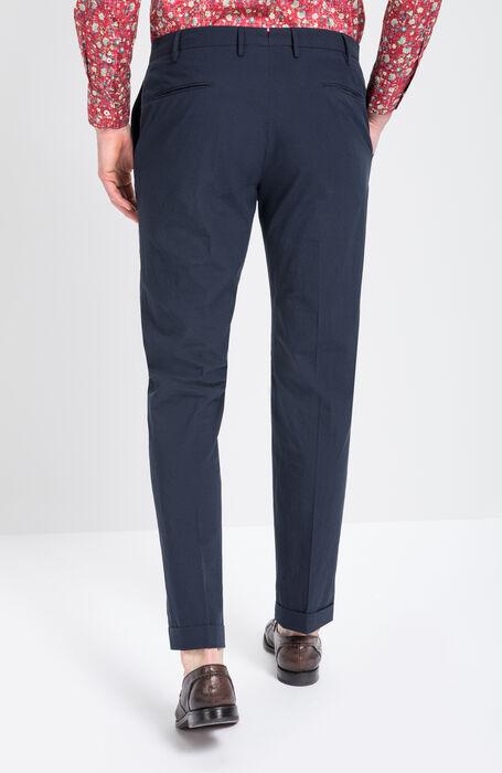 Micro Check Washed Cotton Trousers , Incotex - Venezia 1951 | Slowear