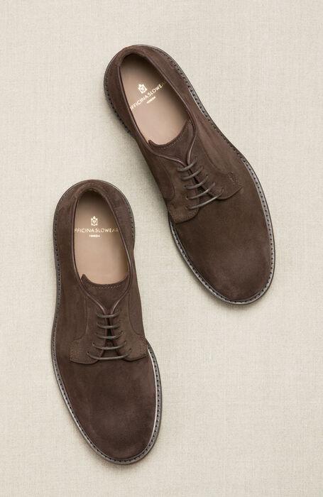 Suede Calfskin Derby Shoe , Officina Slowear | Slowear