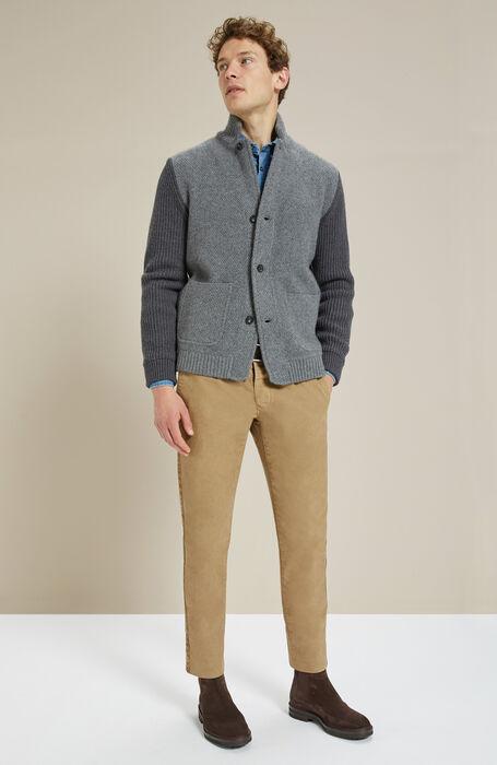 Cashmere wool grey jacket , Zanone | Slowear