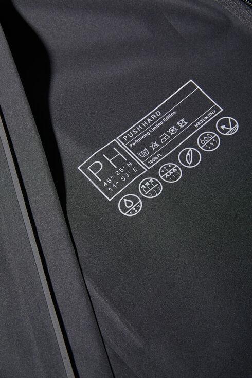 Black waterproof technical fabric jacket , PH Apparel | Slowear