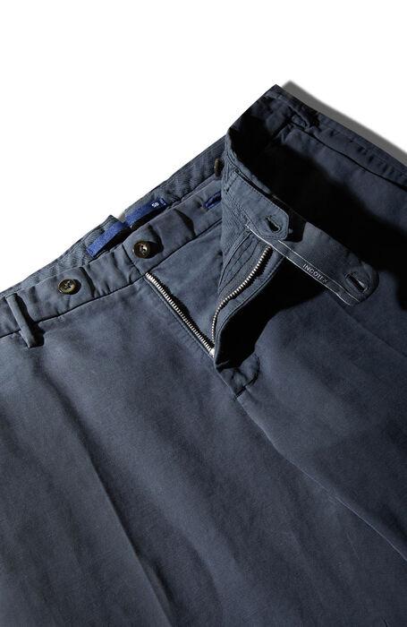 Slim-fit Doeskin blue trousers , Incotex - Venezia 1951   Slowear