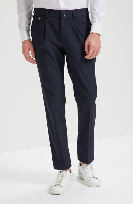 Slim Fit Summer Tonic Wool Trousers , Incotex - Verve | Slowear