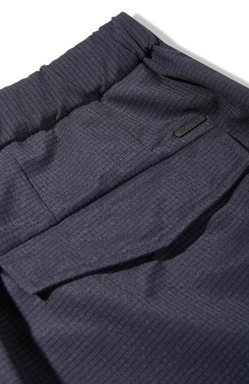 Regular-fit packable Bermuda shorts in Tech Mesh fabric with drawstring and back waist elastic , Slowear Teknosartorial | Slowear