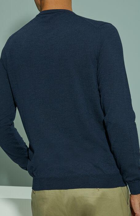 Melange Flexwool crewneck sweater , Zanone | Slowear
