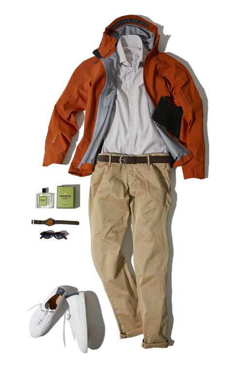 Fraser brown waterproof jacket , Arc'teryx | Slowear