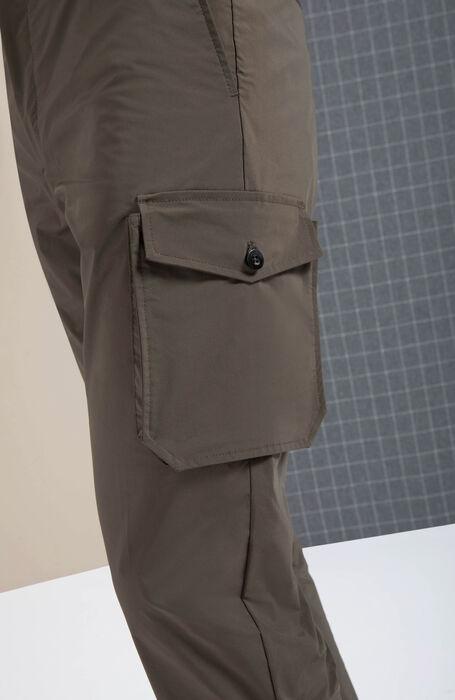 Pantalone cargo packable in tessuto tecnico verde , Incotex - Urban Traveller | Slowear