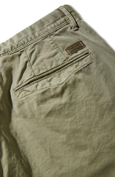 Slim fit stretch gabardine trousers , Incotex - Slacks   Slowear