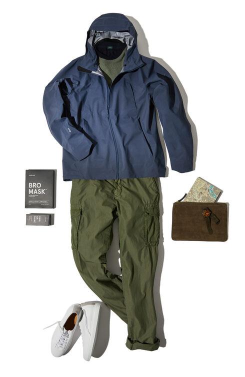 Fraser dark blue waterproof jacket , Arc'teryx | Slowear