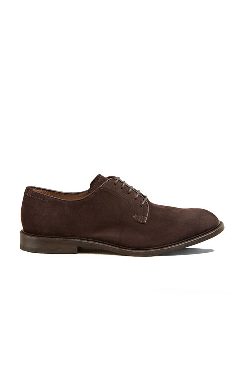 Suede Calfskin Derby Shoe , Officina Slowear   Slowear
