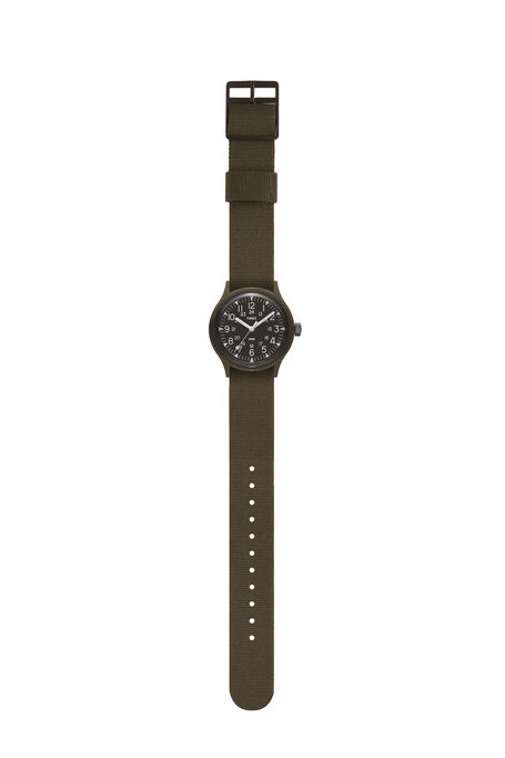 MK1  36mm Military inspired Grosgrain Strap Watch , Timex | Slowear
