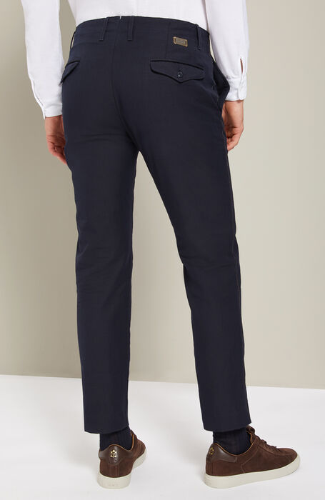 Slim-fit Chinolana trousers , Incotex - Slacks | Slowear