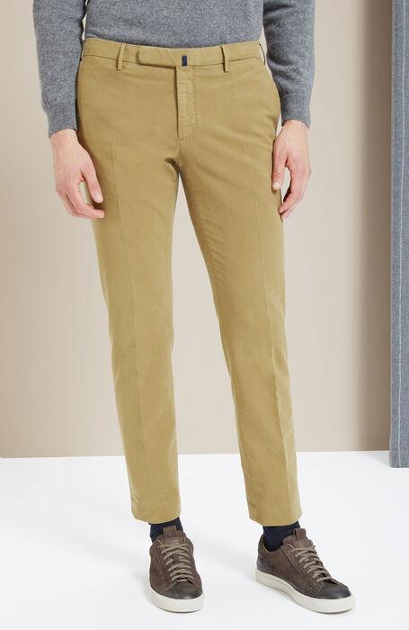 Pantalone slim fit in Doeskin noce , Incotex - Venezia 1951 | Slowear