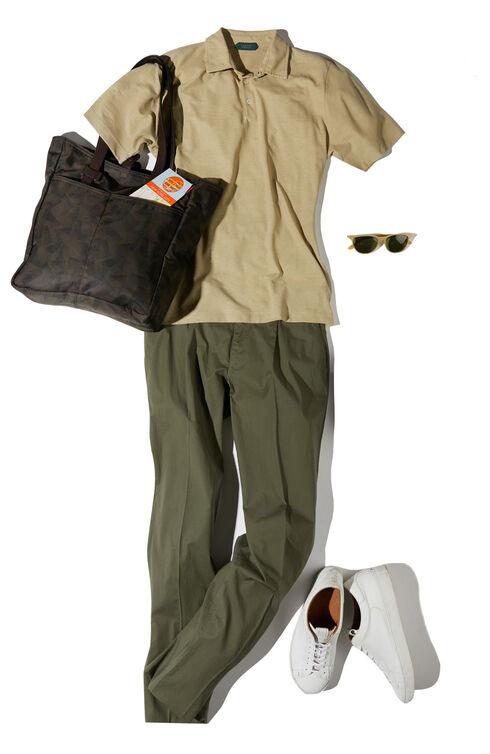 Short-sleeve slim-fit Ice Cotton polo shirt , ZANONE Icecotton   Slowear