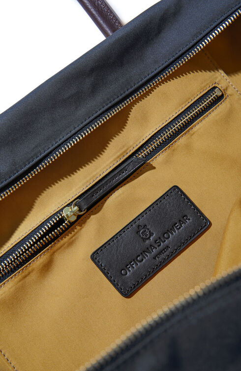 Square bag in technical fabric , Officina Slowear | Slowear