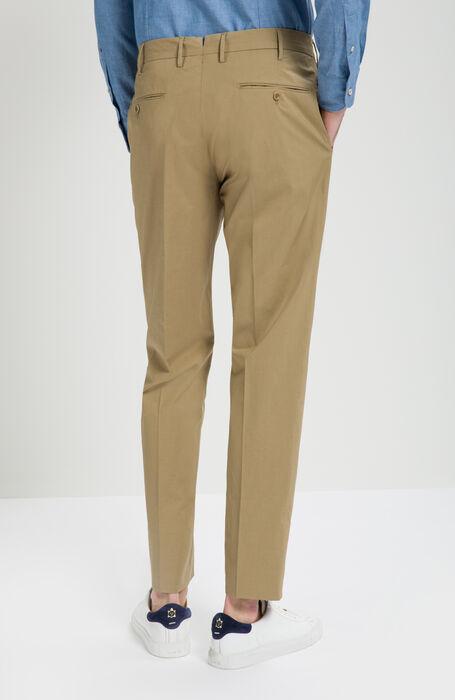 Walnut Slim Fit Stretch Cotton Trousers , Incotex - Venezia 1951 | Slowear