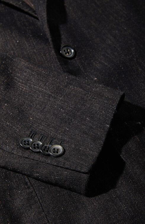 Unlined single-breasted jersey effect jacket , Montedoro   Slowear