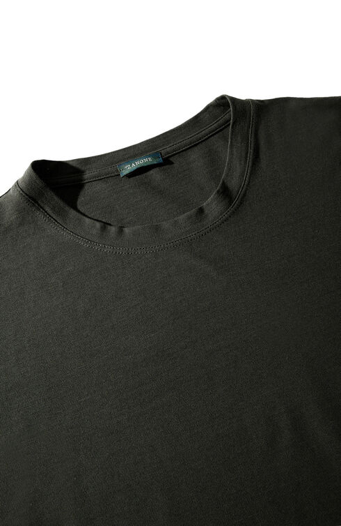 Long-sleeve Ice Cotton T-shirt , ZANONE Icecotton | Slowear