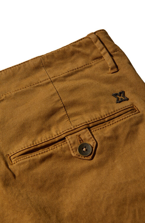 Slim fit blue stretch cotton trousers , Incotex - Slacks | Slowear