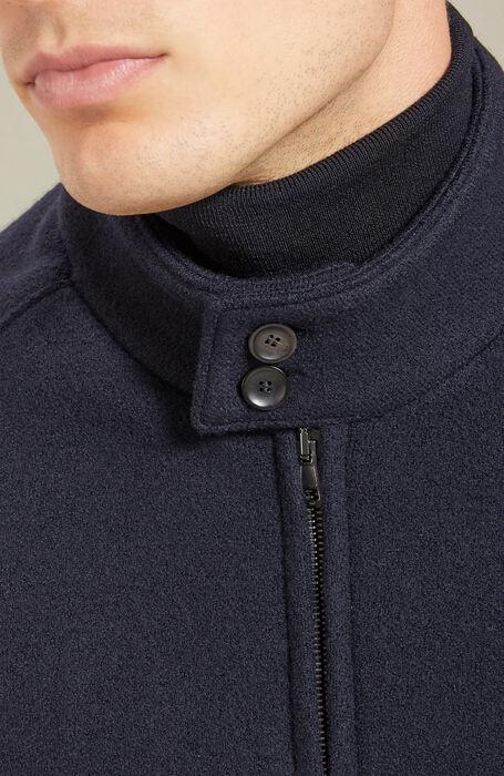 Barracuda jacket in merino wool , Zanone | Slowear