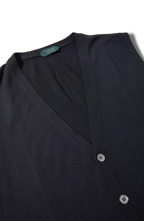 Slim-fit Flexwool vest , ZANONE Flexwool | Slowear