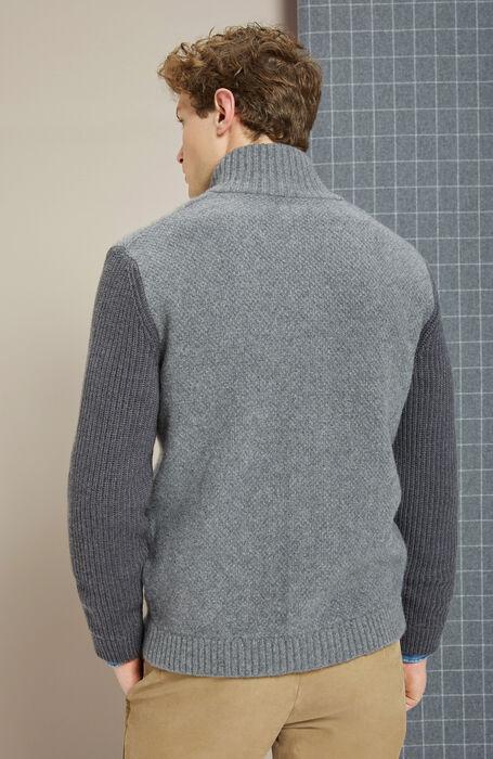 Cashmere wool grey jacket , Zanone   Slowear