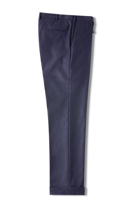 Carded flannel slim fit trousers , Incotex - Venezia 1951 | Slowear