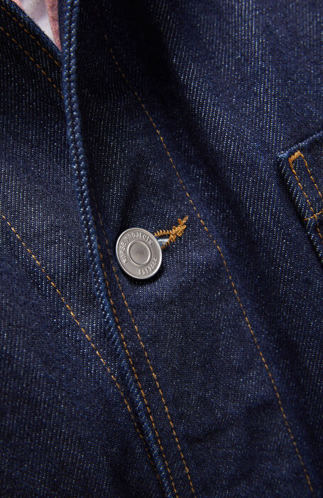 Tyge denim jacket indigo , NORSE PROJECTS | Slowear