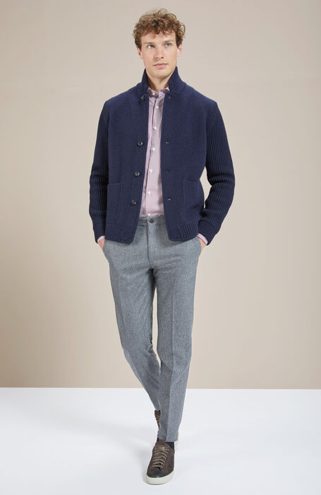 Pantalone tapered fit in Lana , Incotex - Venezia 1951 | Slowear