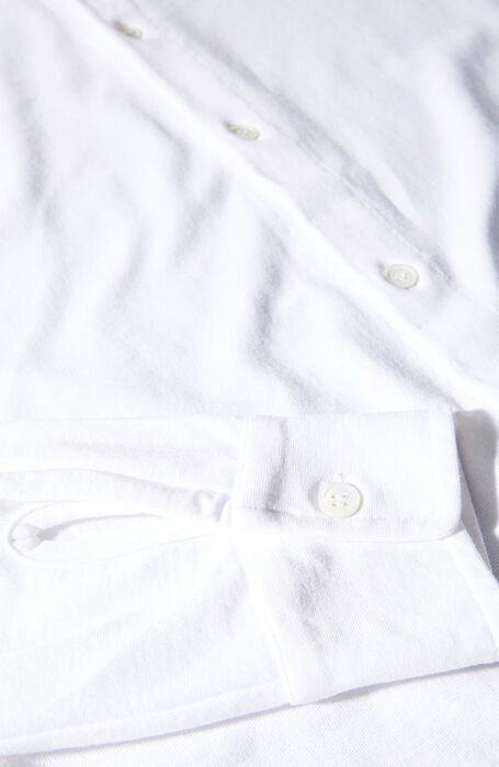 White Ice Cotton shirt , ZANONE Icecotton | Slowear