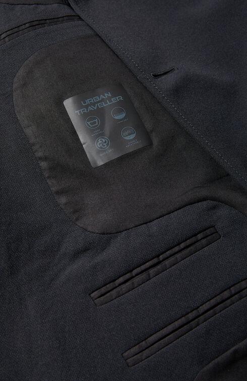 Two-button travel jacket in Techdry technical fabric , Urban Traveler   Slowear