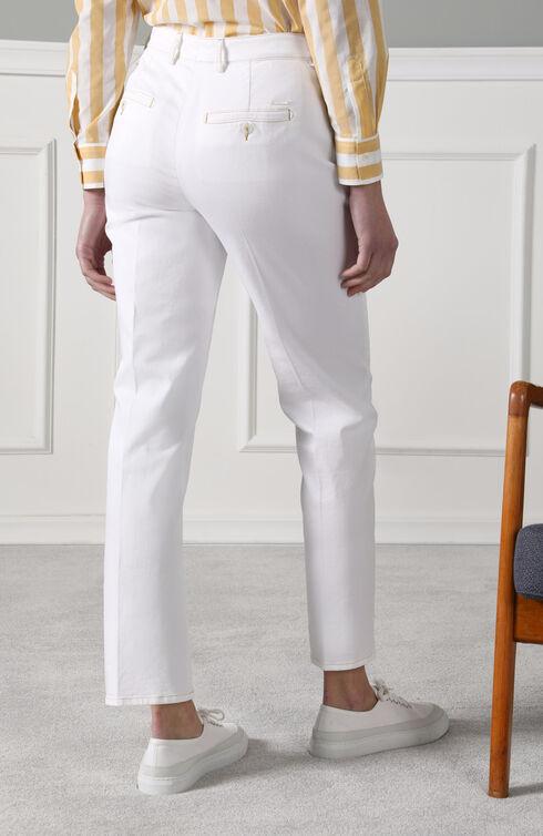 Slim fit trousers in stretch cotton drill , Slowear Incotex | Slowear