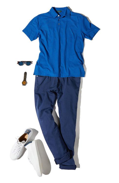 Slim Fit Five-Pocket Cotton Bull Trousers , Incotex - Slacks   Slowear