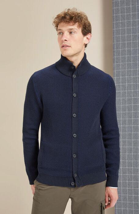 Merino wool and Thermolite Chioto cardigan , Zanone - Urban traveller | Slowear