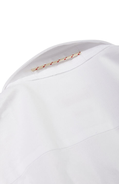 Slim fit Oxford cotton poplin shirt with French collar , Glanshirt | Slowear