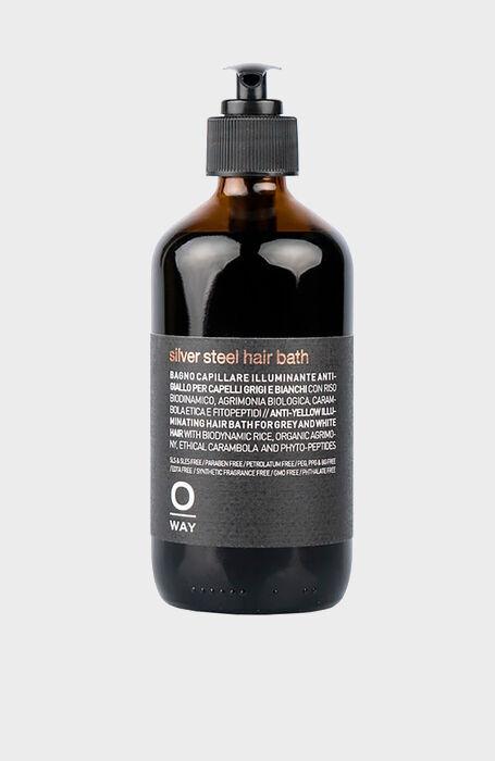 OW MEN Silver Steel Hair Bath , Oway | Slowear