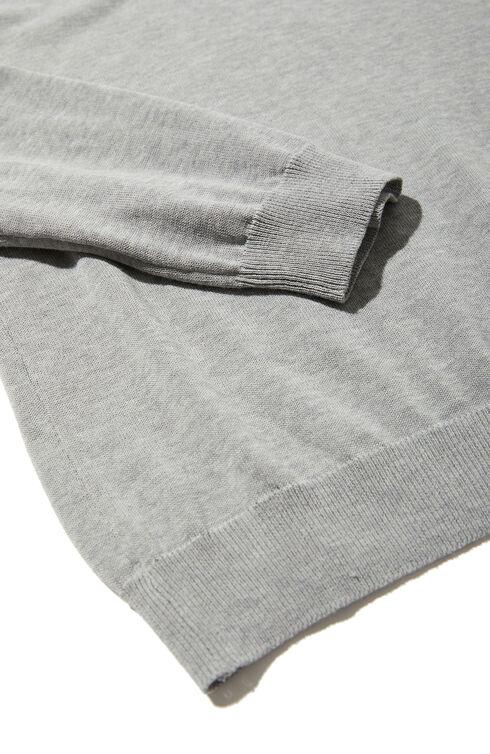 Cotton Crepe Crewneck , Zanone | Slowear