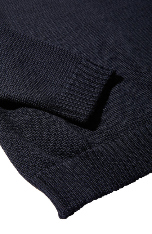 Slim-fit merino wool crewneck sweater , Zanone | Slowear