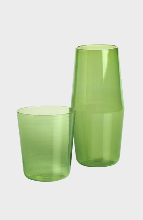 Bonne Nuit Glass by R+D.LAB Green , R+D.LAB   Slowear