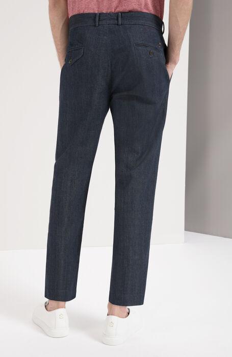 Regular Fit Light Denim Trousers , Incotex - Slacks | Slowear