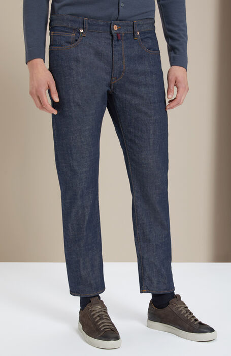 Slim-fit stretch denim trousers , Incotex - Cinque Tasche | Slowear