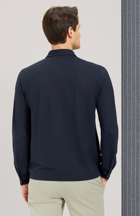 IceCotton Long Sleeve Polo , Zanone | Slowear