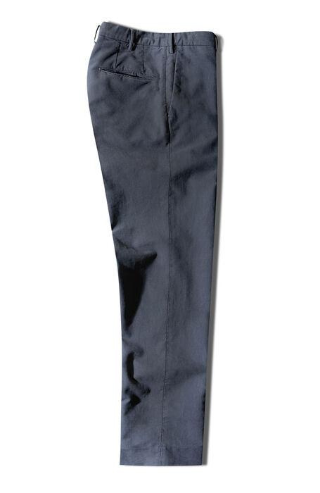 Slim-fit Doeskin blue trousers , Incotex - Venezia 1951 | Slowear