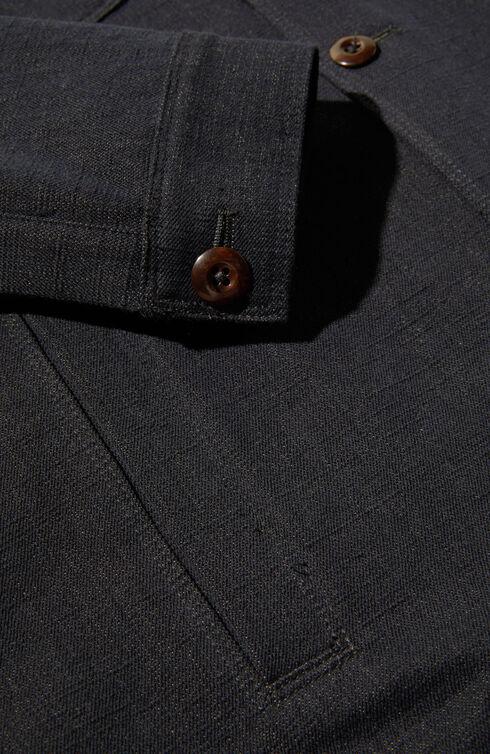 Semi-lined jacket in denim cotton , Montedoro | Slowear