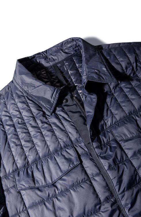 Padded shirt covered in technical fabric , Urban Traveler   Slowear