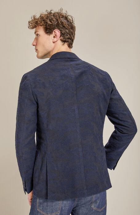 Single-breasted unlined jacket with peaked lapels , Montedoro | Slowear