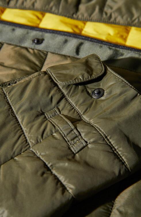 Padded shirt covered in technical fabric , Urban Traveler | Slowear