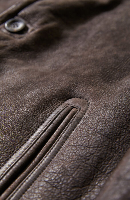 Brown shearling sheepskin , Montedoro | Slowear