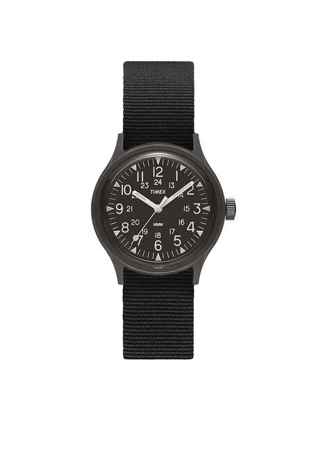 MK1  36mm Military inspired Grosgrain Strap Watch , Timex | Slowear